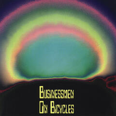 Businessmen On Bicycles