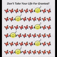 Don't Take Your Life For Granted!