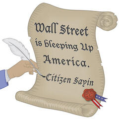 Wall Street Is Bleeping Up America