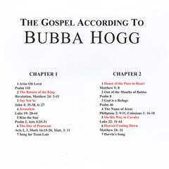 The Gospel According to Buubba Hogg
