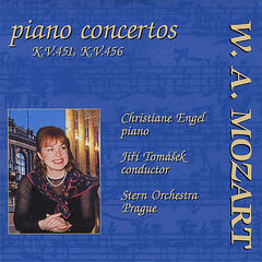 Mozart Piano Concertos: Piano Concerto No. 16 in D major, KV 451; Piano Concerto No. 18 in B flat major, KV 456