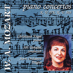 Mozart Piano Concertos: Concerto No. 5 in D major, KV 175; Concerto No. 25 in C major, KV 503