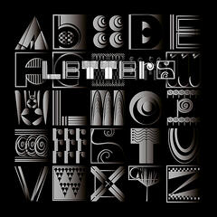 Letters: Building an Alphabet with Art and Attitude // ABC – The Art and Poetry of the English Alphabet Explained in a Philosophical Verse of Rhythm and Rhyme