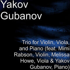Trio for Violin, Viola and Piano