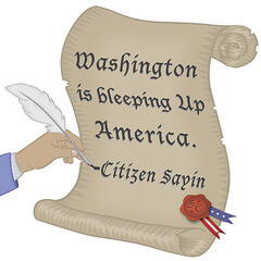Washington Is Bleeping Up America
