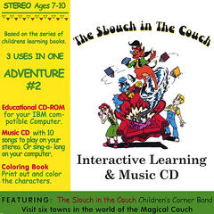 Interactive Learning & Music CD - Adventure #2