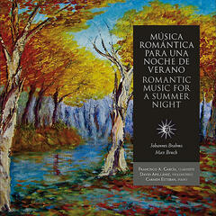 Romantic Music For a Summer Night, Clarinet Trio in A minor op.114 by Johannes Brahms and Eight Pieces, Op. 83 by Max Bruch