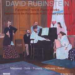 David Rubinstein - Favorite French Piano Works