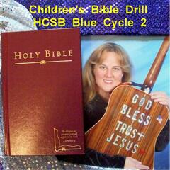 Children's Bible Drill H.C.S.B. Blue Cycle 2 Bonus Youth & High School Verses