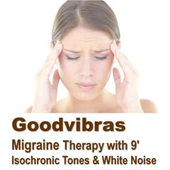 Migraine Therapy With 9' Isochronic Tones & White Noise