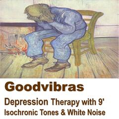 Depression Therapy With 9' Isochronic Tones & White Noise
