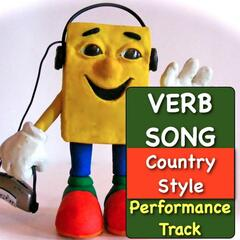 Verb Song (Country Style) [Performance Track]