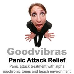 Panic Attack Relief (Panic Attack Treatment With Alpha Isochronic Tones and Beach Environment)