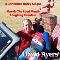 Marvin the Loud Mouth Laughing Reindeer