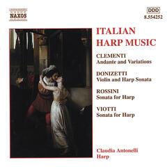 Donizetti, Rossini, amd others / Italian Harp Music