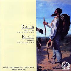 Grieg - Peer Gynt Suites No.1 & 2 / Bizet - Carmen Suites No.1 & 2