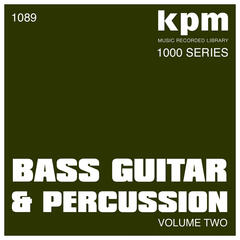 KPM 1000 Series: Bass Guitar and Percussion (Volume 2)