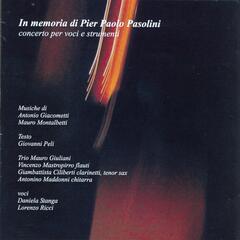 In memoria di Pier Paolo Pasolini