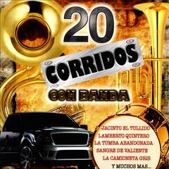 20 Corridos Con Banda
