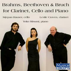 Brahms, Beethoven & Bruch for Clarinet, Cello & Piano