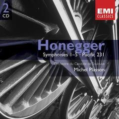 Honegger:Symphonies 1-5, etc