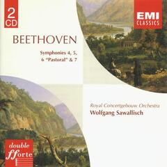 Beethoven: Symphonies Nos. 4 & 7, 5 & 6