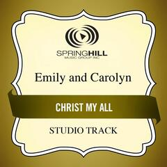 Christ My All (Studio Track)