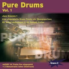 Pure Drums Vol. 1 - Jazz Grooves 1