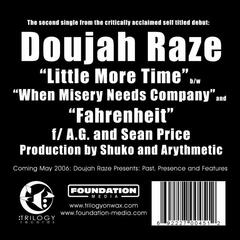 Little More Time / Fahrenheit (feat. AG & Sean Price)