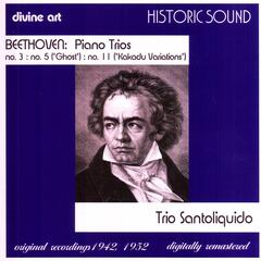 Beethoven: Piano Trios Nos. 3, 5 And 11
