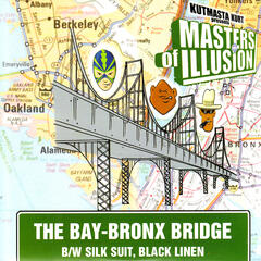 The Bay-Bronx Bridge b/w Silk Suit, Black Linen