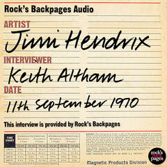 Interview By Keith Altham