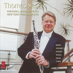 Thomas Stacy plays Fuchs, Berg, Ravel, Downey, Yvon and Read