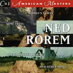 Ned Rorem: The Nantucket Songs
