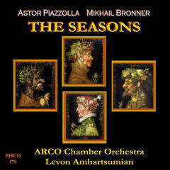 Piazzolla: The Four Seasons of Buenos Aires - Bronner: The Seasons