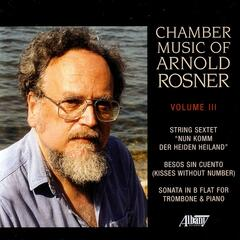 Chamber Music of Arnold rosner, Vol. III
