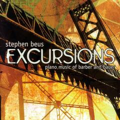 Excursions: Piano Music From Barber and Bauer