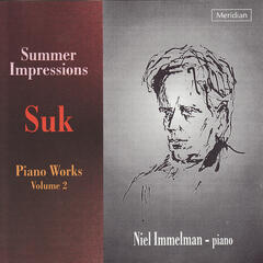 Suk: Piano Works, Vol. 2