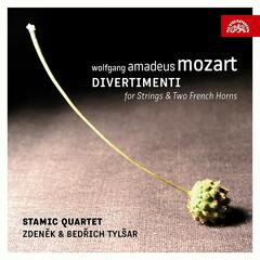 Mozart: Divertimenti for Strings and Two French Horns