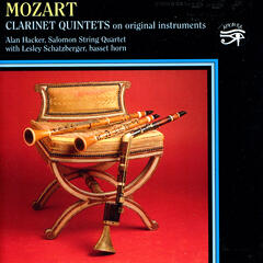Mozart: Clarinet Quintets on original instruments