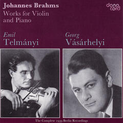 Brahms: Works for Violin and Piano