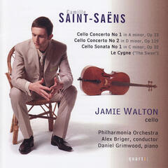 Saint-Saens Cello Works