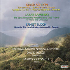 The Royal Scottish National Orchestra Performs Works by Achron, Saminksy, and Bloch