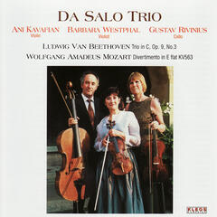 Beethoven: Trio in C, Op. 9 No. 3 & Mozart: Divertimento in E-Flat, KV. 563