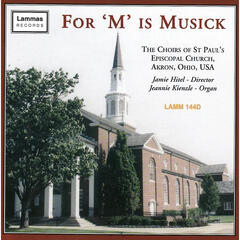 For 'M' is Musick
