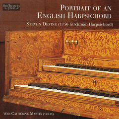 Portrait of an English Harpsichord
