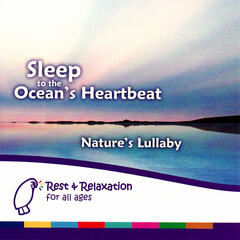 Sleep to the Ocean's Heartbeat: Continuous Sound of Waves & Heartbeat