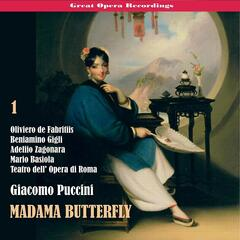 Great Opera Recordings / Giacomo Puccini: Madama Butterfly [1939], Vol. 1