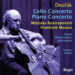 Dvořák: Cello Concerto  and Piano Concerto