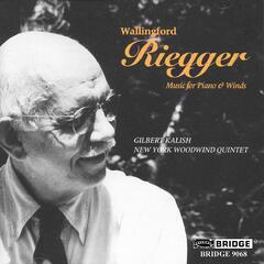 Wallingford Riegger: Music for Piano and Winds